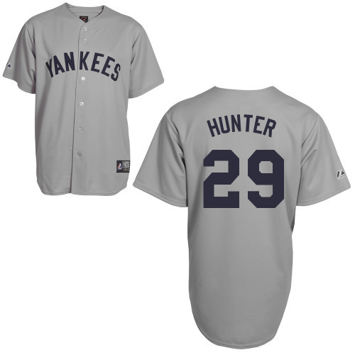 Catfish Hunter Jersey - NY Yankees 1927 Cooperstown Replica Throwback Jersey photo