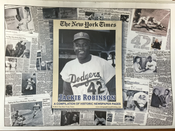 Jackie Robinson Historic Newspaper Compilation - NY Times