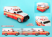 FDNY Motorized Ambulance w/Lights & Sound