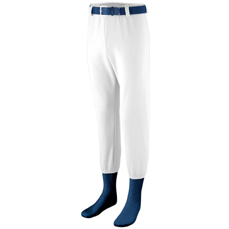 White Baseball Pants photo