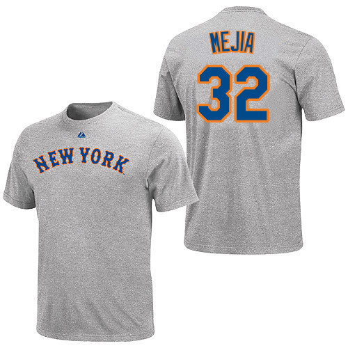 brand new 4ea23 33057 Jenrry Mejia T-Shirt - Grey Ny Mets Adult T-Shirt