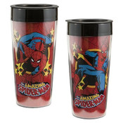 Marvel Comics 16 oz Plastic Travel Mug