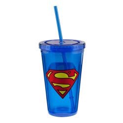 Superman 18oz Acrylic Travel Cup Photo