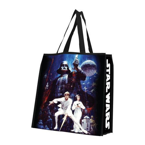 Star Wars Large Recycled Shopper Tote photo