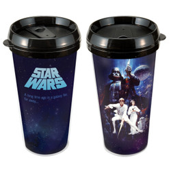 Star Wars 16 oz Plastic Travel Mug Photo