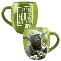 Star Wars Yoda 18oz Ceramic Mug Photo