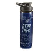 """Star Trek """"Enterprise"""" 24oz Stainless Steel Water Bottle"""