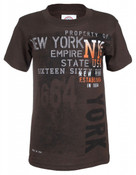 NY Established 1664 Brown Kids T-Shirt