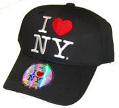 I Love NY Kids Hat - Black Cap