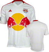 New York Red Bulls Adidas Replica White Home Jersey