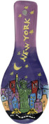 Statue of Liberty Hand Painted Ceramic Spoonrest