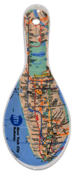 MTA Subway Map Ceramic Spoon Rest