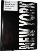 NY BW Letter Skyline Journal
