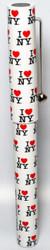 I Love NY Allover White Pen Photo
