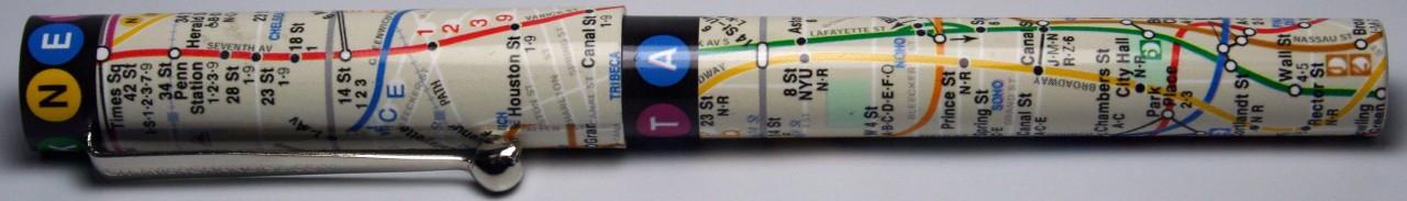 MTA Subway Map Pen photo