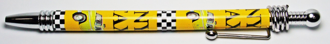 NY Taxi Retractable Pen photo