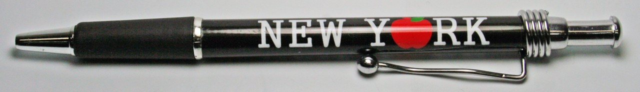 NY Big Apple Retractable Pen photo