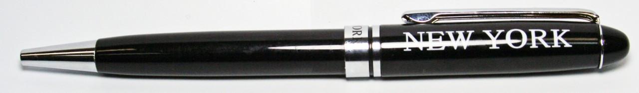 NY First Class Black Ballpoint Pen photo