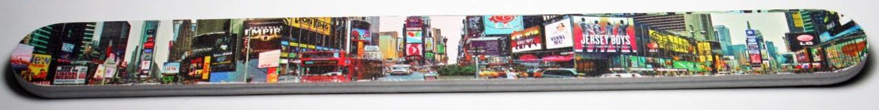 Times Square Panorama Nail File photo