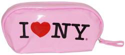I Love NY Pink Cosmetic Bag Photo