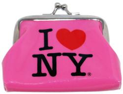I Love NY Pink Coin Purse Photo