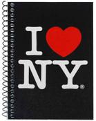 I Love NY Black Notebook