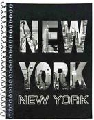 NY Skyline Letters Notebook