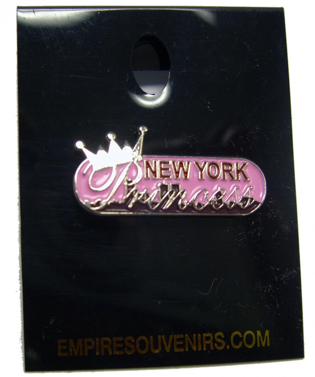 NY Princess Banner Pin photo