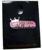 NY Princess Banner Pin
