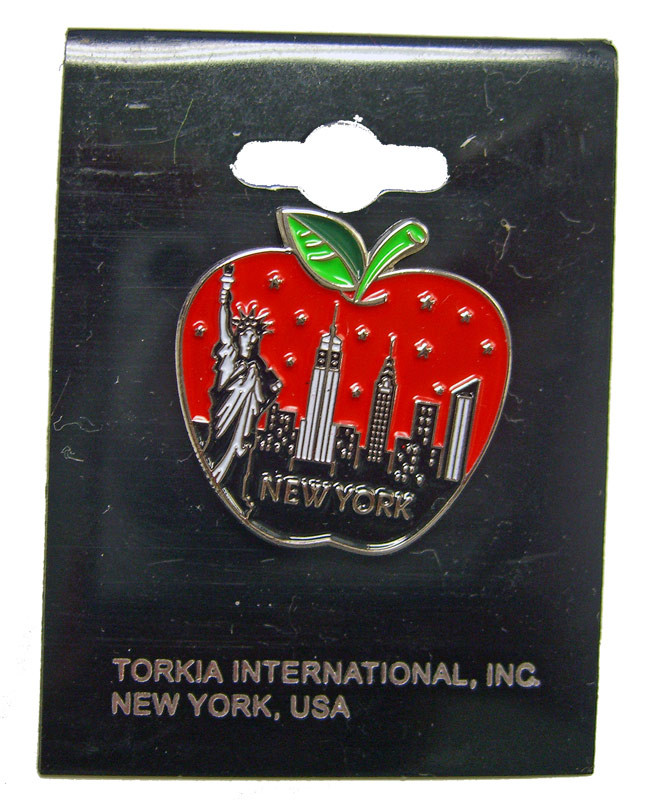 Big Apple Skyline Pin photo