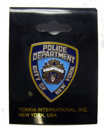 Official NYPD Shield Pin Photo