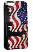 American Flag iPhone 6 Case - NYC Skyline Design