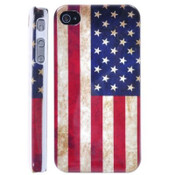American Flag iPhone 6+ Case - Retro Design