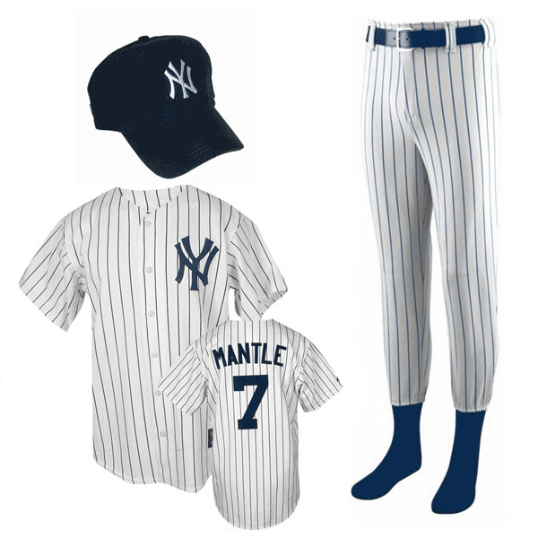 Mickey Mantle Costume for Kids photo