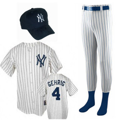 Lou Gehrig Costume for Kids Photo