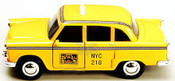 NYC Checker Cab 5 Inch Toy side view