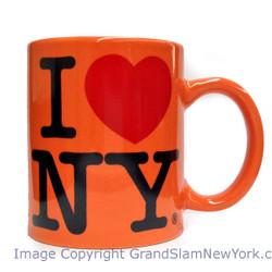 I Love NY Orange 11oz. Mug Photo