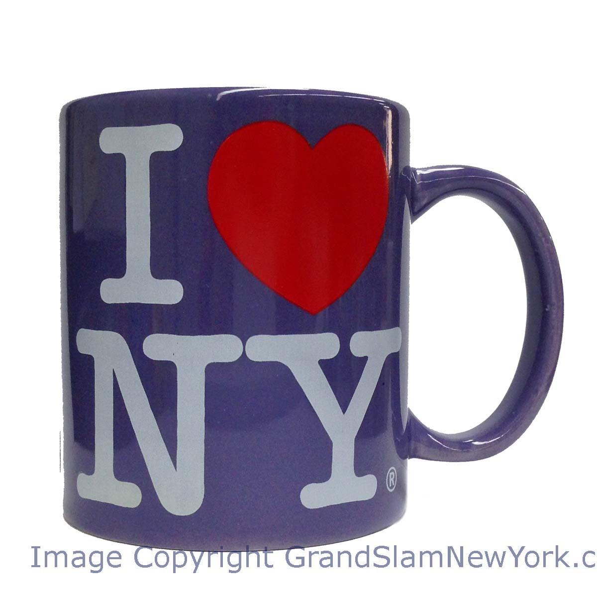 I Love NY Lavendar 11oz. Mug photo