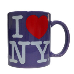I Love NY Lavendar 11oz. Mug Photo