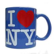 I Love NY Ocean Blue 11oz. Mug