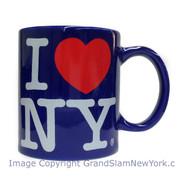 Royal Blue I Love NY Mug