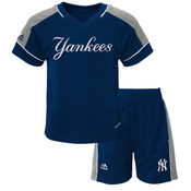 Yankees Toddler 2-PC Performance Shorts Set