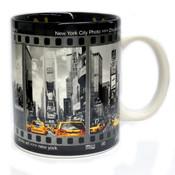 NYC Filmstrip Black & White 11oz Mug