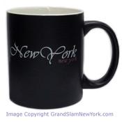 New York Script Mug - Black Matte