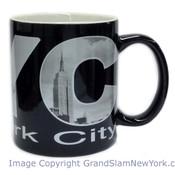 NYC Iconic Letters Black 11oz Mug