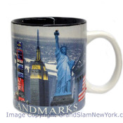 NYC Color Collage Photo 11oz Mug