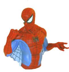 Spiderman Bust Bank Photo