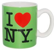 I Love NY Mini Mug - Green