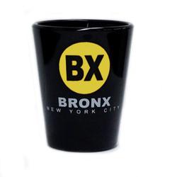Bronx BX Black Shot Glass Photo