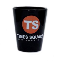 Times Square TS Black Shot Glass Photo